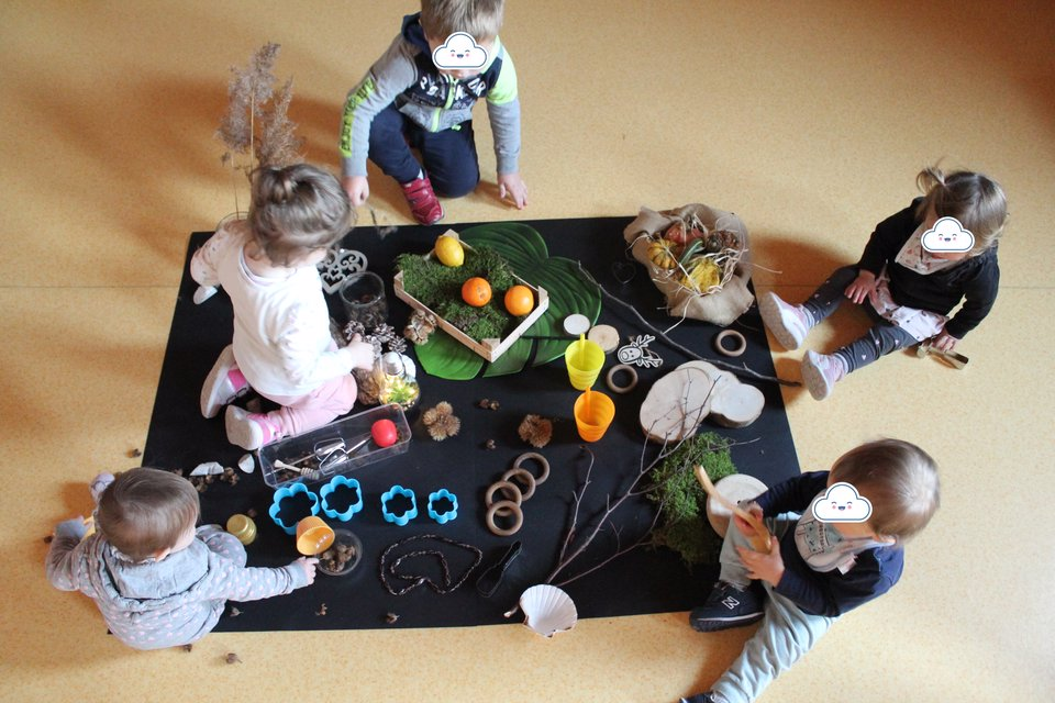 laboratorio manipolativo loose parts w